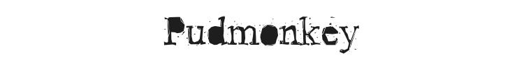 Pudmonkey Font