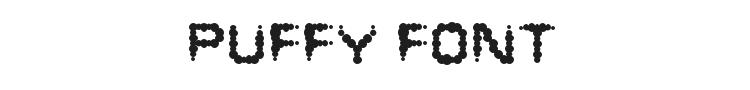 Puffy Font
