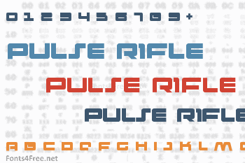 Pulse Rifle Font