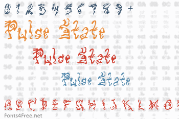 Pulse State Font