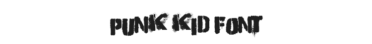 Punk Kid Font Preview
