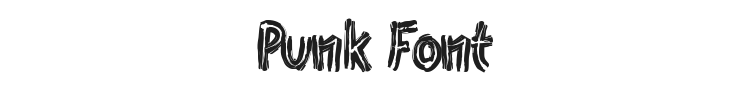 Punk Font Preview