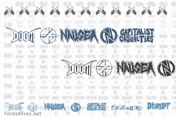 Punk Rawk Font