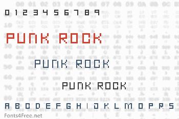 Punk Rock Font
