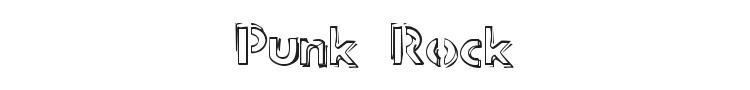 Punk Rock Rummage Sale Font Preview