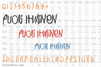 Puoli Ihminen Font