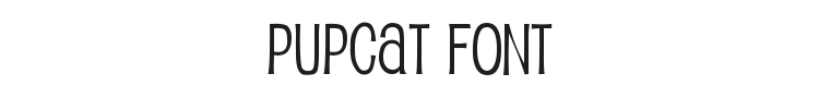 Pupcat Font Preview