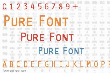 Pure Font