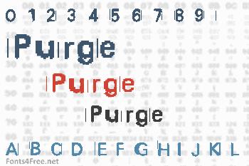 Purge Font