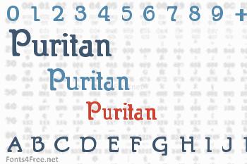 Puritan Font