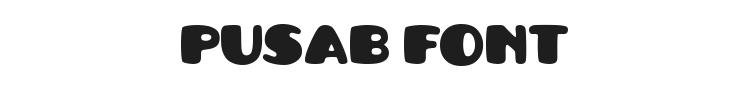Pusab Font