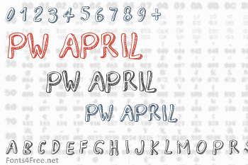 PW April Font