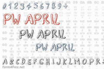PW April Font