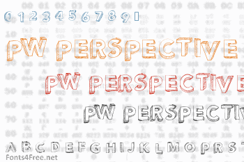 PW Perspective Font