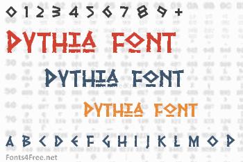 Pythia Font