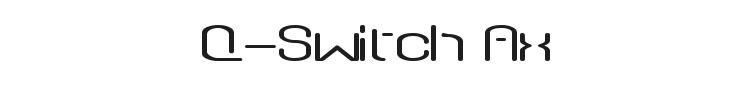 Q-Switch Ax