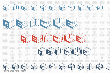 Qbicle Font