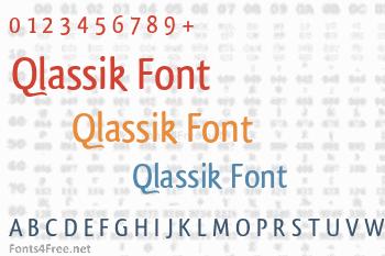 Qlassik Font