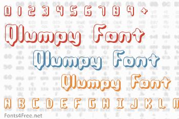 Qlumpy Font