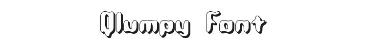 Qlumpy Font Preview
