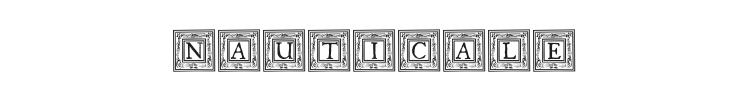 Qua Nauticale Font Preview