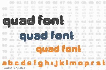 Quad Font