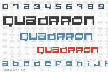 Quadrron Font