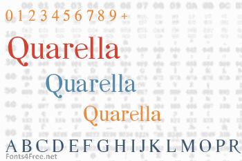Quarella Font