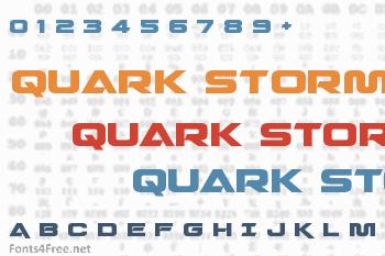 Quark Storm Font