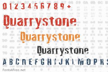 Quarrystone Font