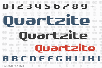 Quartzite Font