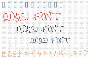 Quasi Font