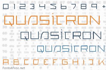 Quasitron Font