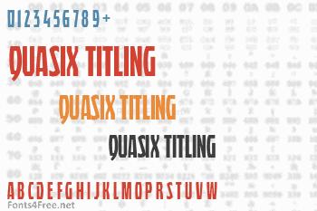 Quasix Titling Font