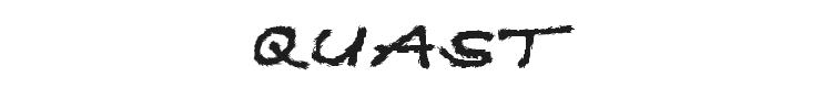 Quast Font Preview