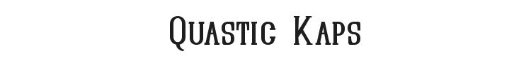 Quastic Kaps Font Preview