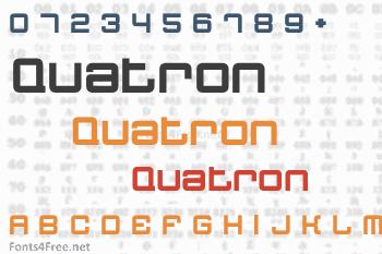 Quatron Font