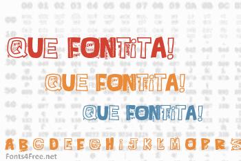 Que FONTita! Font