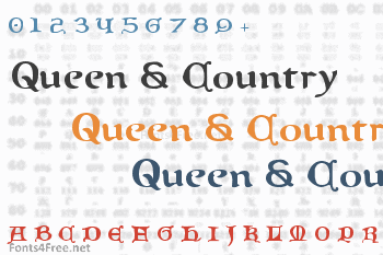 Queen & Country Font