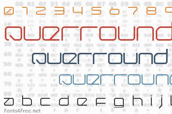 QuerRound Font