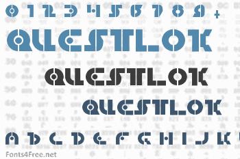 Questlok Font