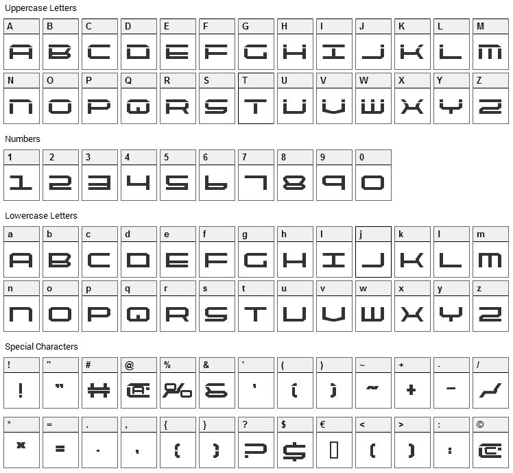 Quick Tech Font Download