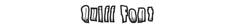 Quiff Font