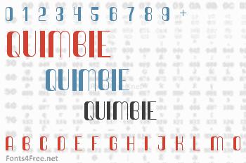 Quimbie Font