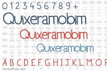 Quixeramobim Font