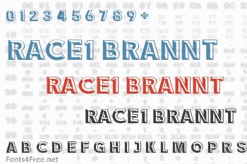 Race1 Brannt NCV Font