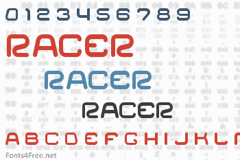 Racer Font