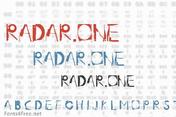 Radar.One Font