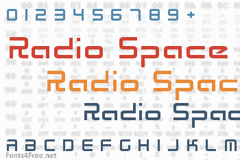 Radio Space Font