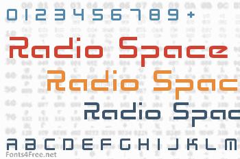 Radio Space Font